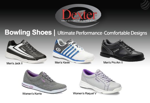Click here to shop all Dexter bowling shoes