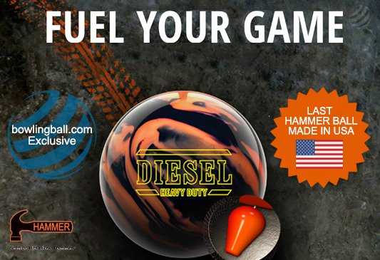 Click here to shop Hammer Diesel Heavy Duty bowling ball