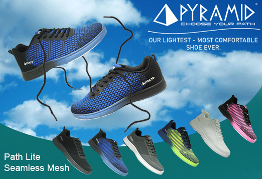 Click Here To Shop Pyramid Path Lite Seamless Mesh Bowling Shoes