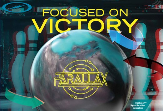Click here to shop Storm Parallax bowling ball