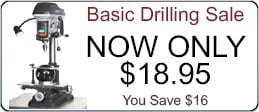Click here to learn more about our basic and custom drilling services