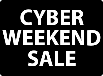 Click here to shop Cyber Weekend Sale!