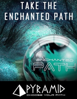 Click here to shop Pyramid Enchanted Path Rising Bowling ball