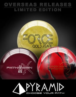 Click here to shop Pyramid International Release bowling balls