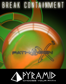 Click here to shop Pyramid Pathogen X² Bowling ball