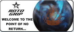 Click here to shop Roto Grip Rubicon bowling ball