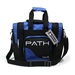 Path Single Deluxe Tote Black/Royal Blue